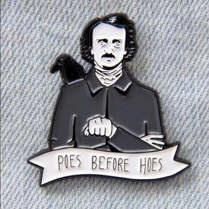 New Retro Edgar Allan Poe poem it's funny pin